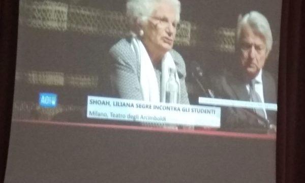 Liliana Segre incontra gli studenti d'Italia